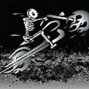Bone Ride Art Print