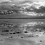 Bonneville Salt Flats Two Art Print