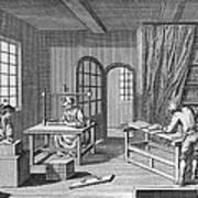 Bookbinder, 1763 Art Print