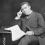 Booker T. Washington 1856-1915, African Art Print