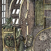 Bookwheel, 1588 Art Print