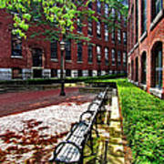 Boott Mill Courtyard Art Print