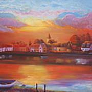 Bosham Estuary Art Print