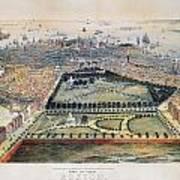 Boston, 1850 Art Print