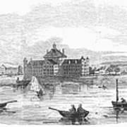 Boston: Almshouse, 1852 Art Print