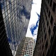 Boston Blue Sky And Stone Art Print