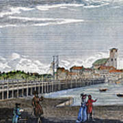 Boston: Charles River, 1789 Art Print