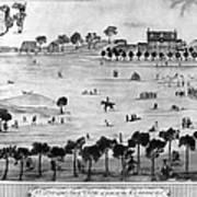 Boston Common, 1768 Art Print