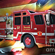 Boston Engine 37 Art Print