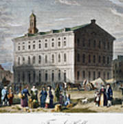 Boston: Faneuil Hall, 1776 Art Print
