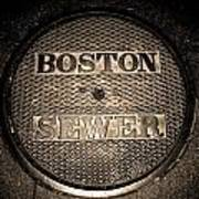 Boston Sewer Art Print