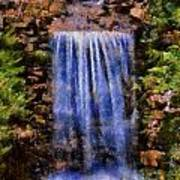 Botanical Garden Falls Art Print