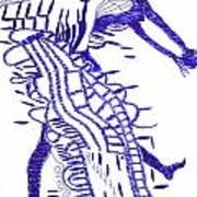 Botswana Dance Art Print
