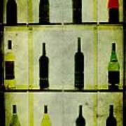 Bottles Art Print by Alexander Bakumenko