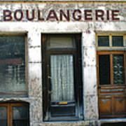 Boulangerie Print by Georgia Fowler