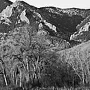Boulder Colorado Front Range Ncar View Art Print