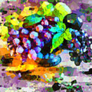 Bouquet Of Fruits Art Print