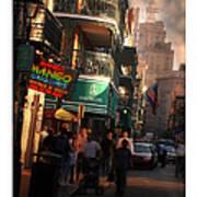 Bourbon Street New Orleans Art Print