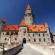 Bouzov Castle Art Print