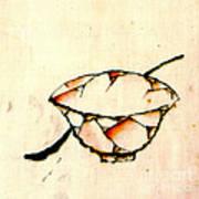 Bowl And Spoon 1840 Art Print