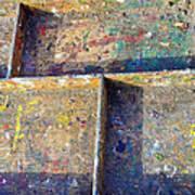 Box Palette Paint  Art Print