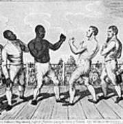 Boxing: Cribb V. Molineaux Art Print by Granger
