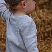 Boy In Cool Hat Art Print