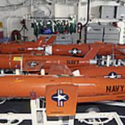 Bqm-74e Chukar Target Drones Stowed Art Print