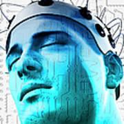 Brain Circuit Art Print by MedicalRF.com