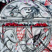 Brain Spillover Art Print