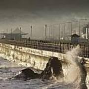 Bray Promenade, Bray, County Wicklow Art Print