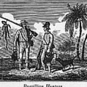 Brazil: Hunters, C1820 Art Print