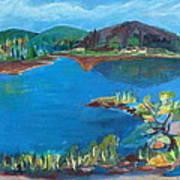 Breakwater On The Great Sacandaga  Art Print