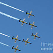 Breitling In The Air Art Print