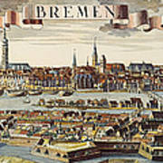Bremen, Germany, 1719 Art Print