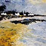 Bretagne Sascape Art Print