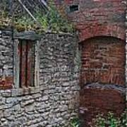 Brick And Stone England Art Print