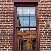 Bricks In Bricks Art Print
