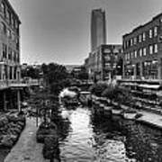 Bricktown Canal Art Print