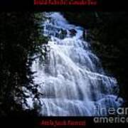 Bridal Falls B.c. Canada Two Art Print