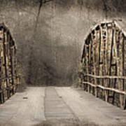 Bridge After Lightroom Art Print