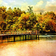 Bridge At Cypress Park Art Print
