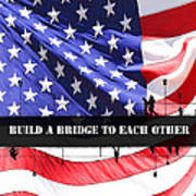 Bridge-builder Art Print