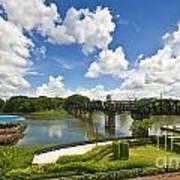 Bridge On The River Kwai Thailand Art Print