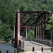 Bridge Over Southern Waters Art Print