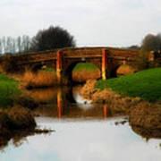 Bridge Reflection Art Print