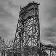 Bridge Tower 3390 Art Print