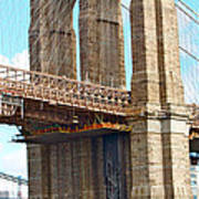 Bridge View One Art Print
