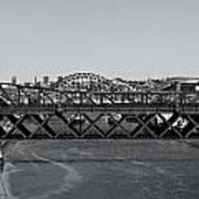 Bridges Of Newcastle On Tyne Art Print