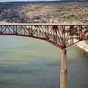 Bridging The Canyon Art Print